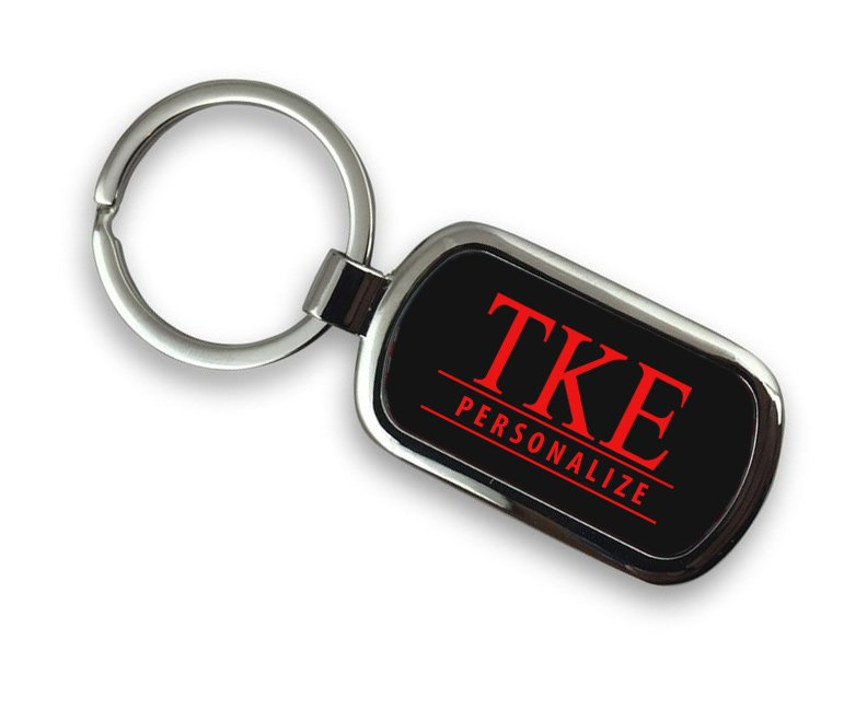 Tau Kappa Epsilon Chrome Key Chain
