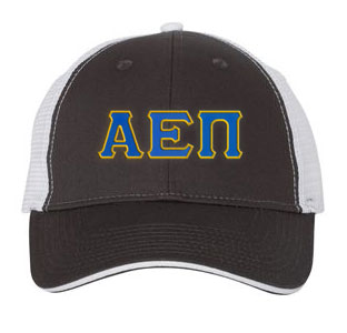 Alpha Epsilon Pi Greek Trucker Cap