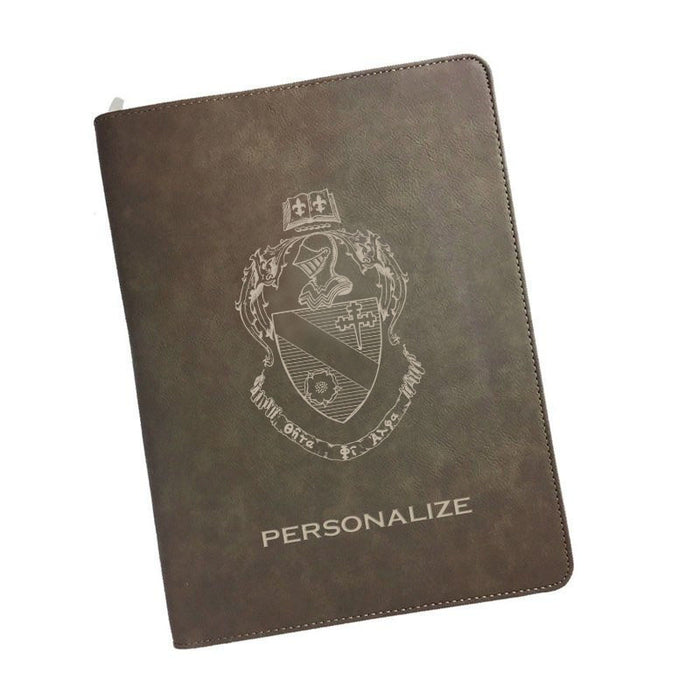 Theta Phi Alpha Leatherette Portfolio with Notepad