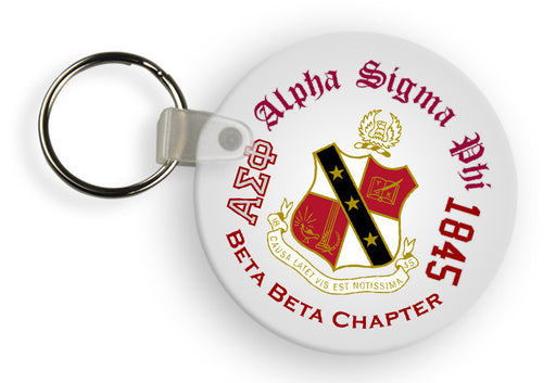 Alpha Sigma Phi Color Keychain
