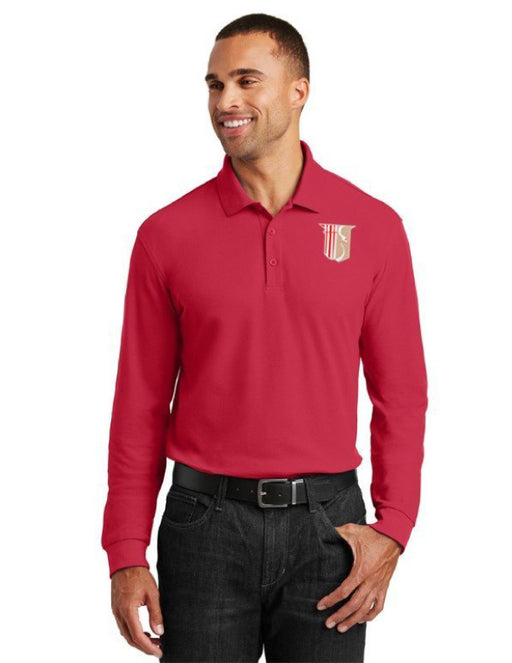 Theta Chi Long Sleeve Polo