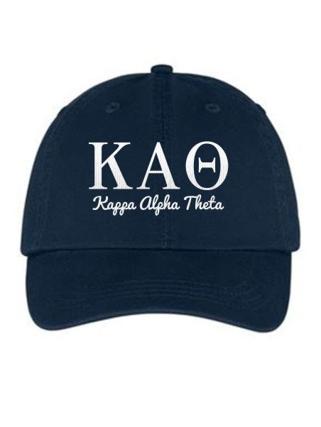 Kappa Alpha Theta Collegiate Curves Hat