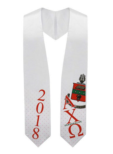 Default Super Crest Graduation Stole