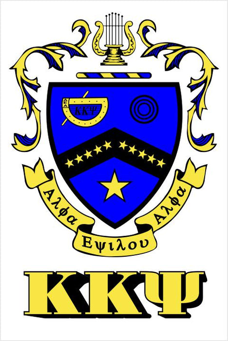 Kappa Kappa Psi Crest Window Decals Stickers Crest Decal
