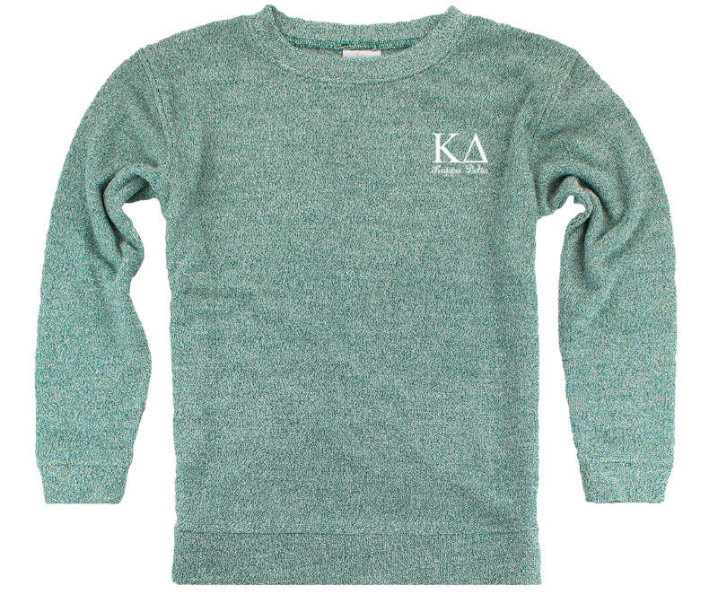 Kappa Delta Lettered Cozy Sweater