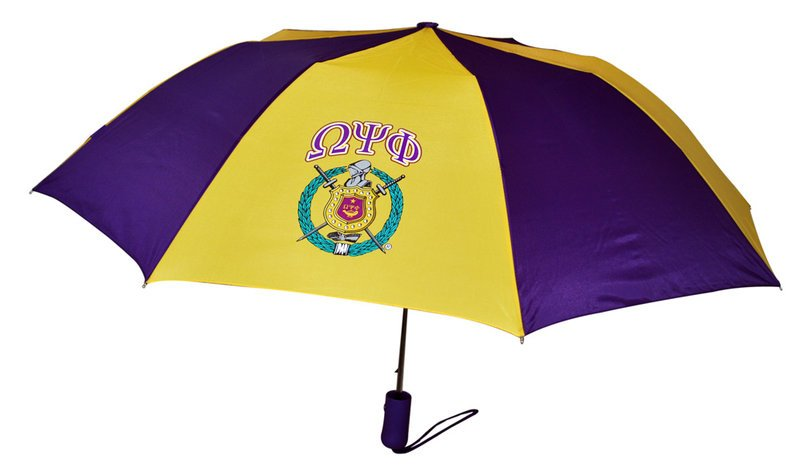 Omega Psi Phi Crest Umbrella