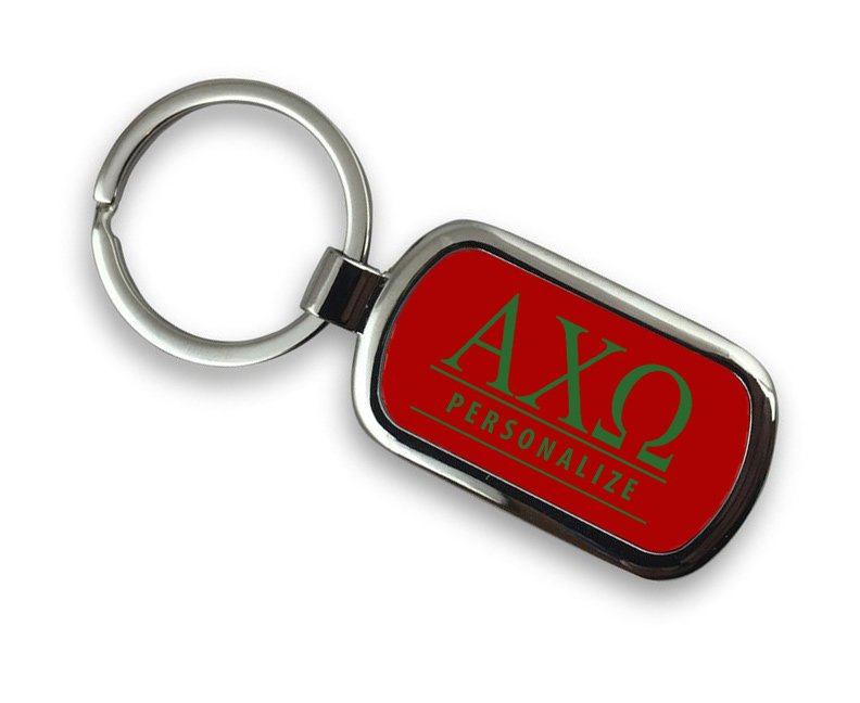 Alpha Chi Omega Chrome Key Chain