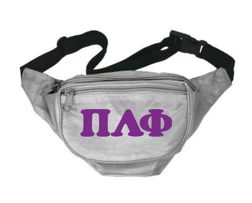 Pi Lambda Phi Letters Layered Fanny Pack