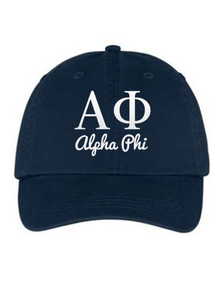 Alpha Phi Collegiate Curves Hat