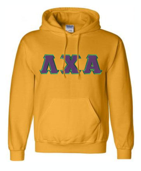 Lambda Chi Alpha Lettered Hoodie