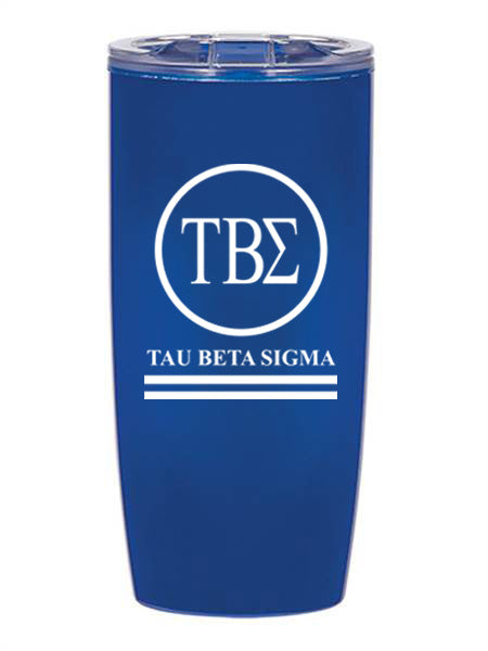 Tau Beta Sigma Circle Stripes 19 oz Everest Tumbler