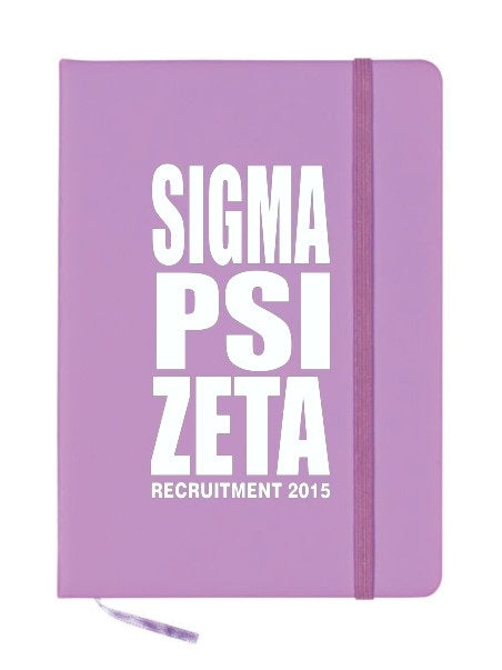 Sigma Psi Zeta Impact Notebook
