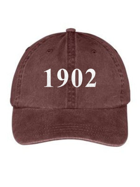 Delta Zeta Year Established Embroidered Hat