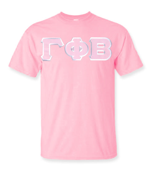 Gamma Phi Beta Lettered T Shirt