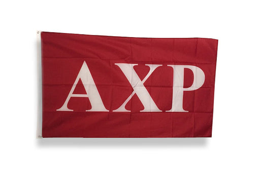 Alpha Chi Rho Big Letter Flag