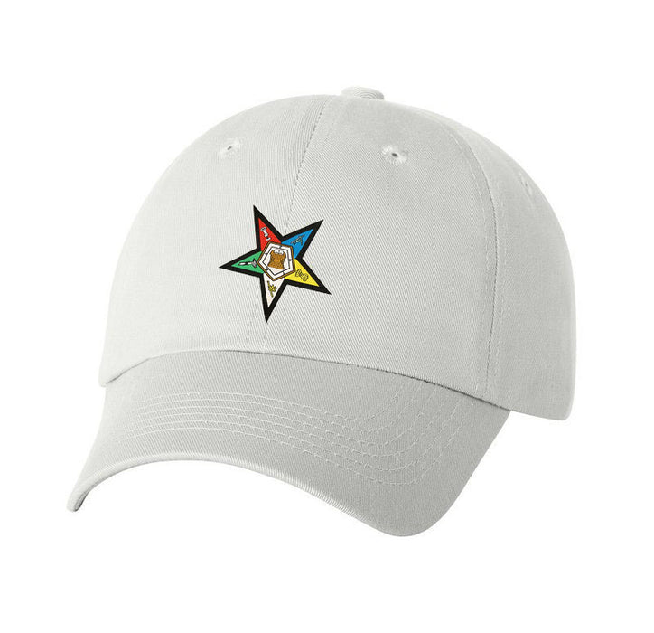Order Of Eastern Star Crest Baseball Hat