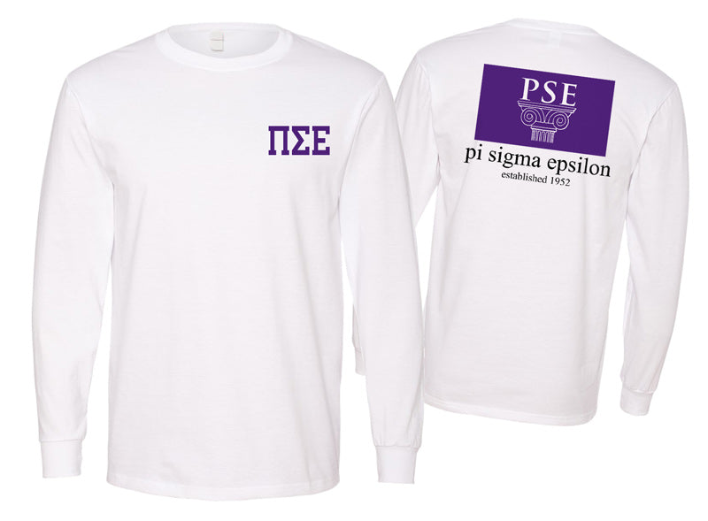 Phi Sigma Epsilon Long Sleeve Flag Tee