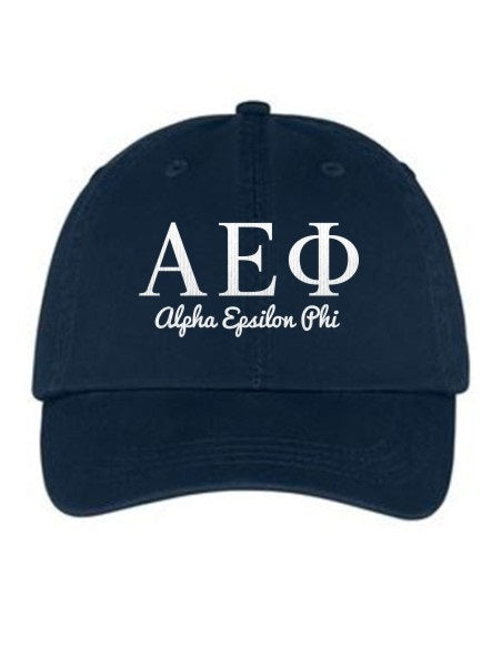 Alpha Epsilon Phi Collegiate Curves Hat
