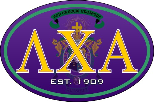 Lambda Chi Alpha Color Oval Decal