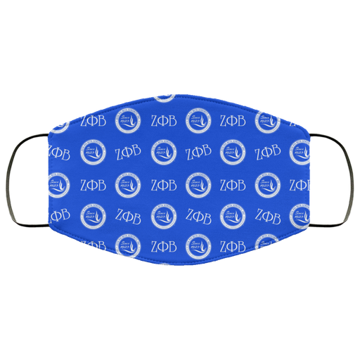 Zeta Phi Beta Face Mask