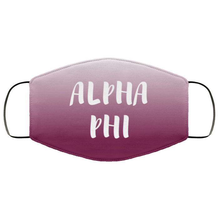 Alpha Phi Shade Face Mask Alpha Phi Shade Face Mask