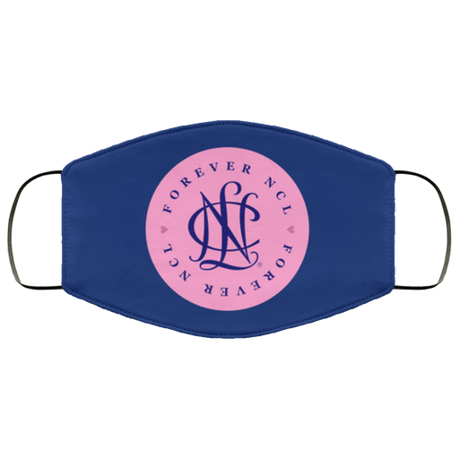 National Charity League Pink Circle Face Mask