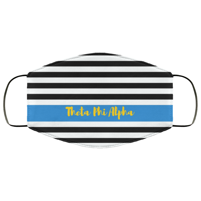 Theta Phi Alpha Stripes Face Mask Theta Phi Alpha Stripes Face Mask