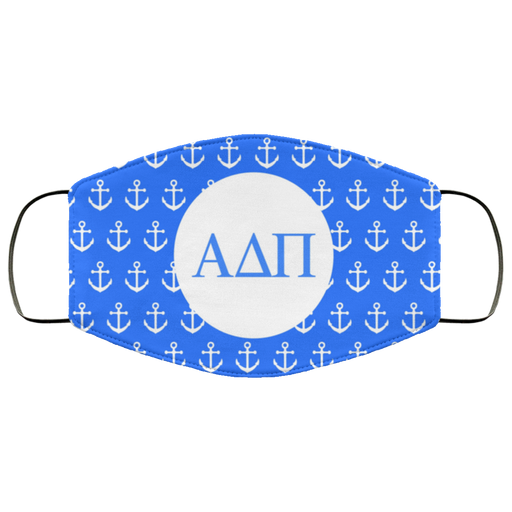Alpha Delta Pi Anchor Face Mask