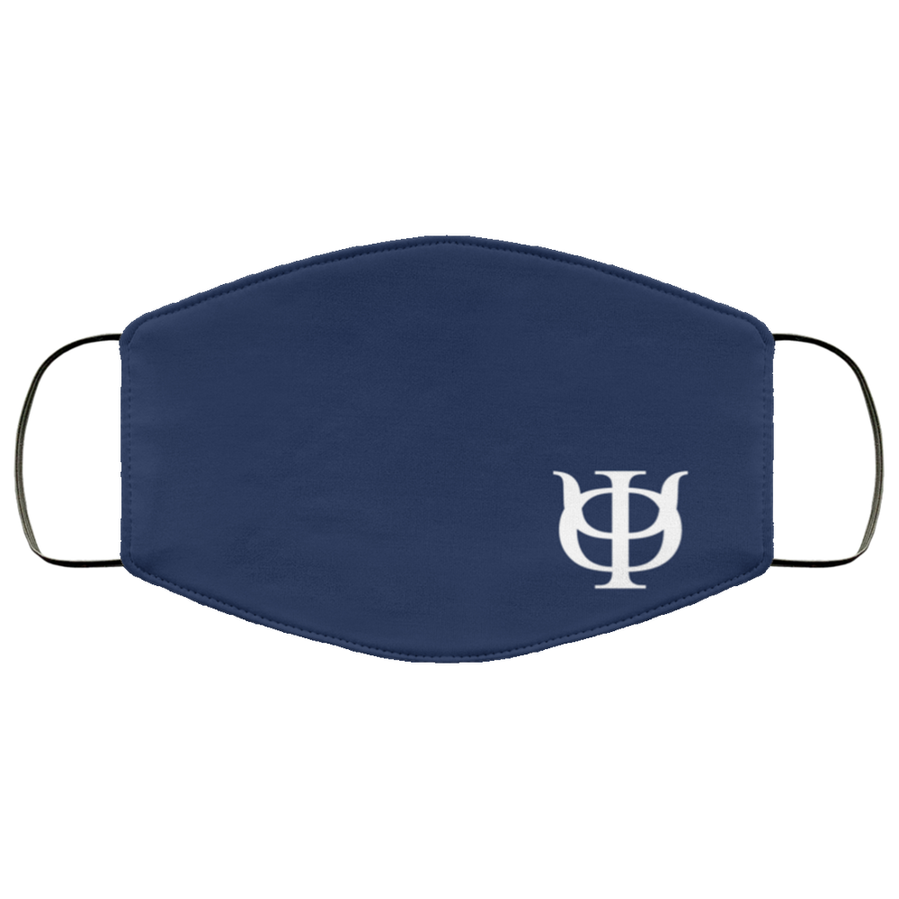 Phi Kappa Psi Navy Face Mask Phi Kappa Psi Navy Face Mask