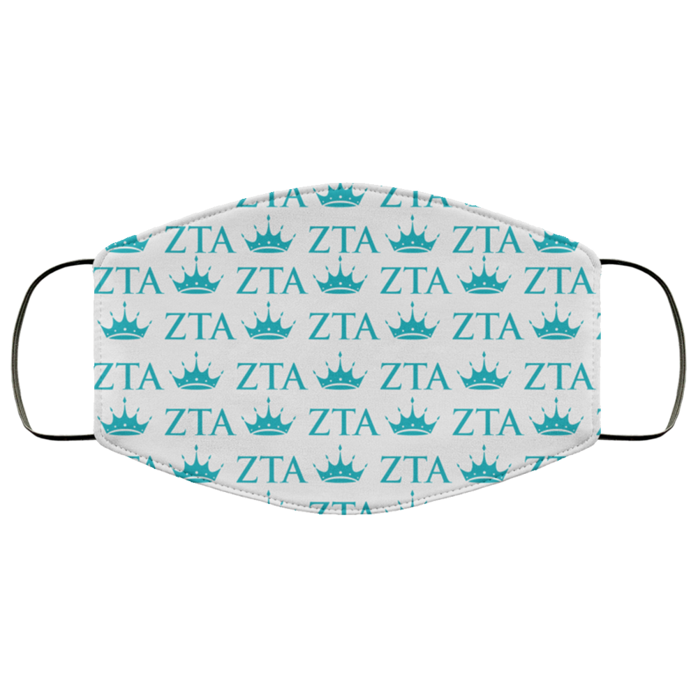 Zeta Tau Alpha Face Mask Zeta Tau Alpha Face Mask