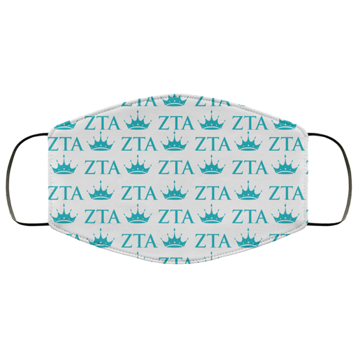 Zeta Tau Alpha Face Mask