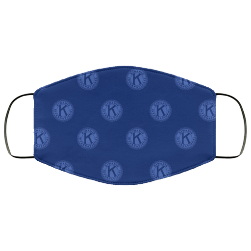 Kiwanis Navy Face Mask