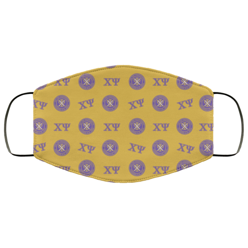 Chi Psi Chi Psi Face Mask