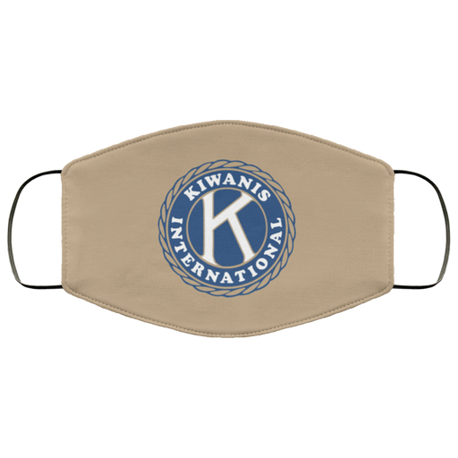 Kiwanis Tan Face Mask