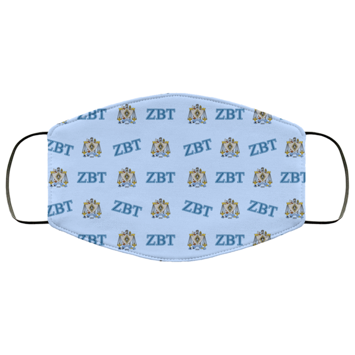 Zeta Beta Tau Face Mask Zeta Beta Tau Face Mask
