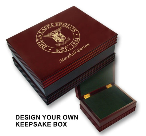 Alpha Omicron Pi Custom Keepsake Box