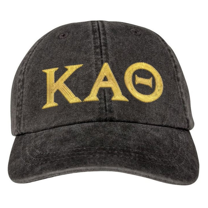 Kappa Alpha Theta Greek Letter Embroidered Hat