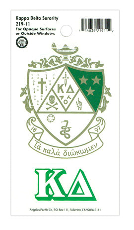 Kappa Delta Crest Decal