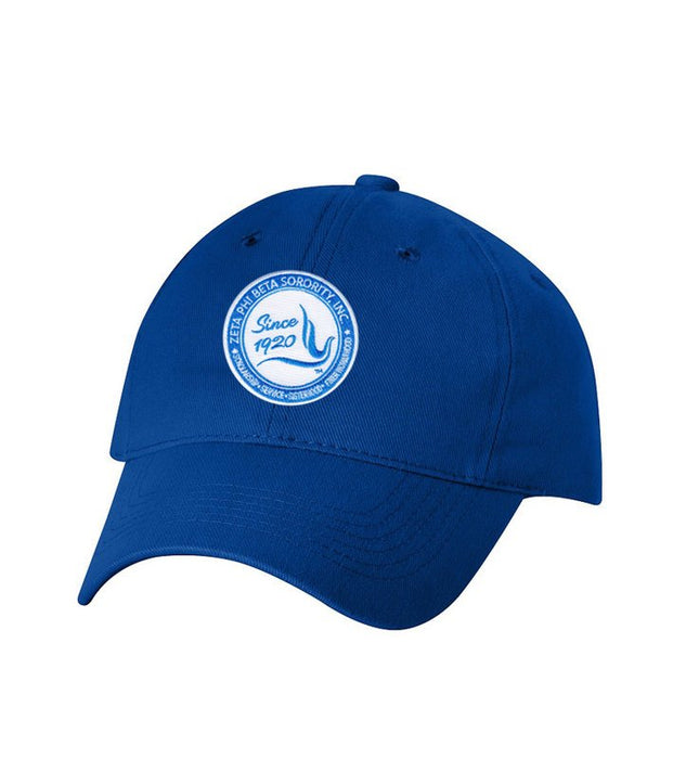Zeta Phi Beta Crest Baseball Hat