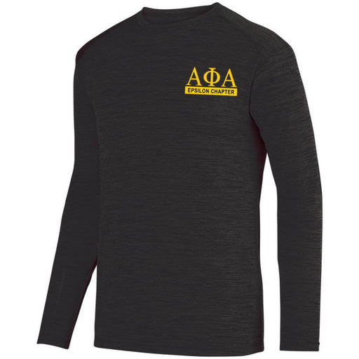 Alpha Phi Alpha $20 World Famous Dry Fit Tonal Long Sleeve Tee