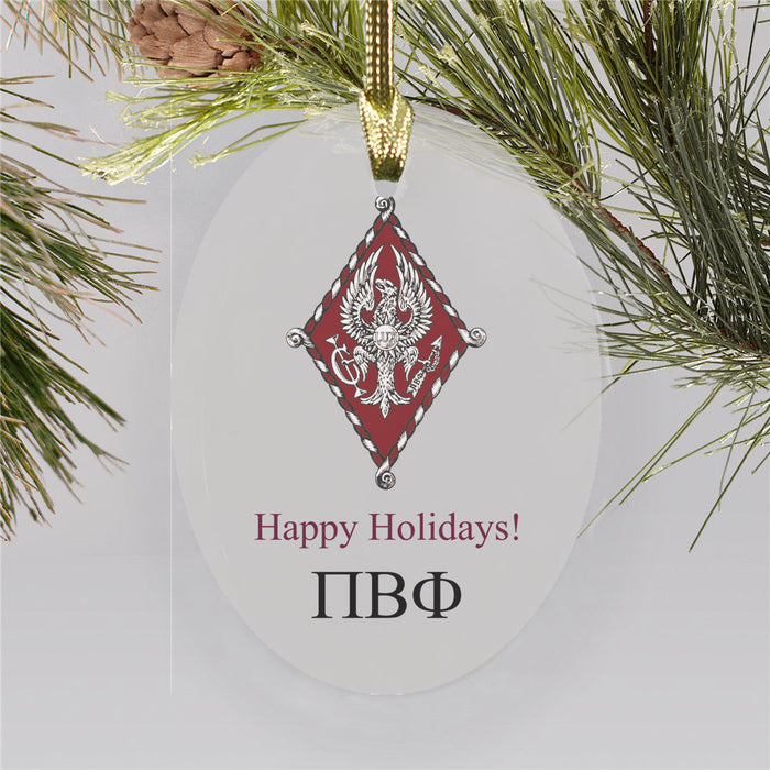 Pi Beta Phi Color Crest Ornament