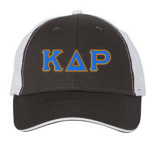 Kappa Delta Rho Greek Trucker Cap