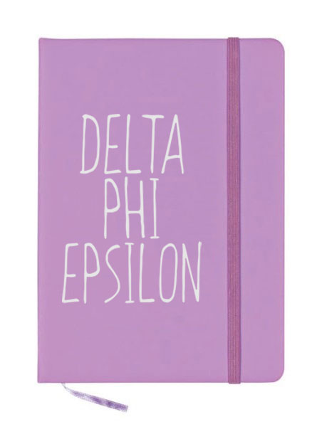 Delta Phi Epsilon Mountain Notebook