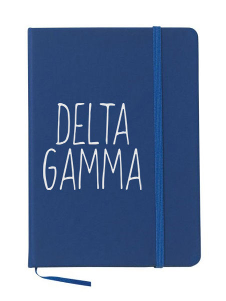 Delta Gamma Mountain Notebook
