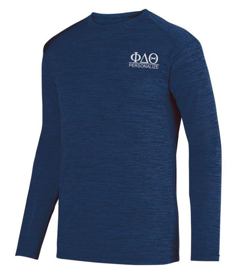 Phi Delta Theta $20 World Famous Dry Fit Tonal Long Sleeve Tee