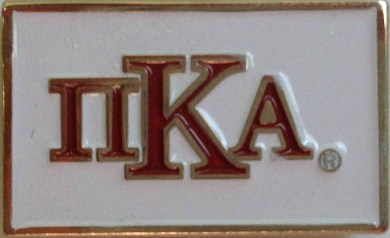 Pi Kappa Alpha Fraternity Flag Pin