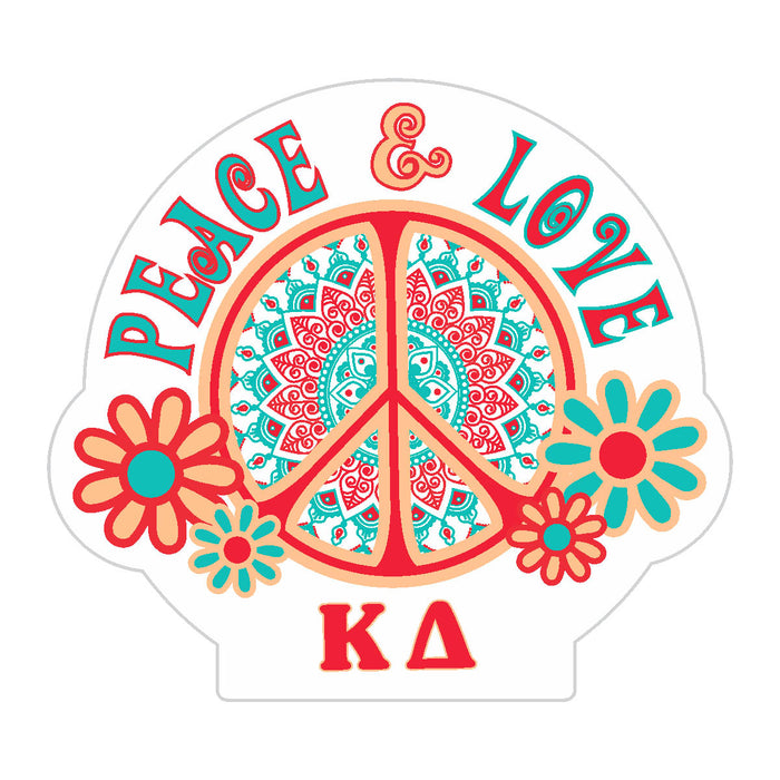 Kappa Delta Peace Sticker