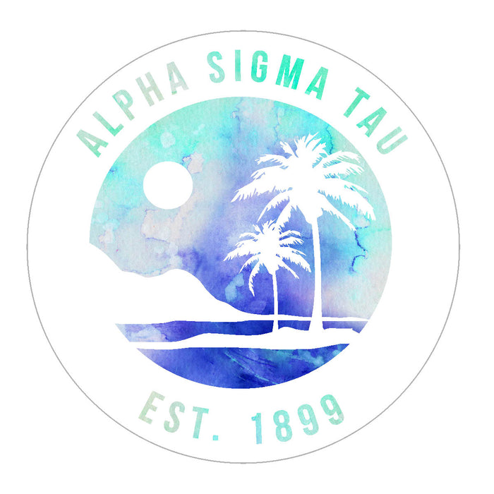 Alpha Sigma Tau Oasis Sticker