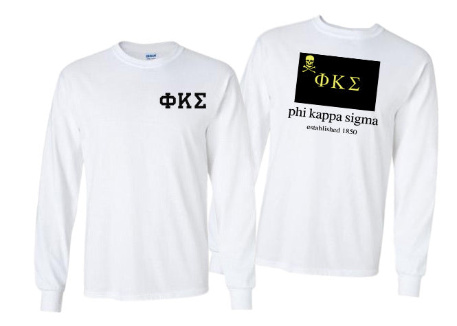 Phi Kappa Sigma Long Sleeve Flag Tee