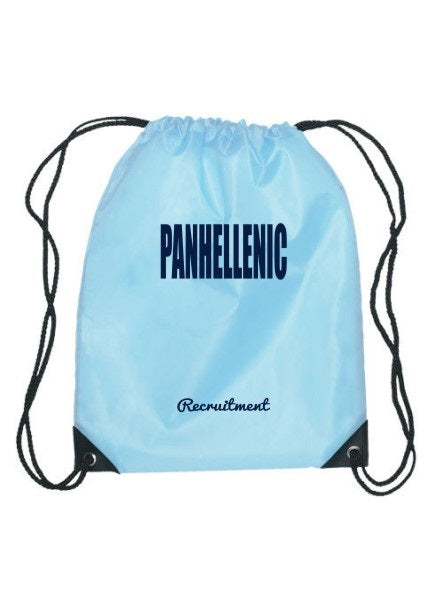 Panhellenic Cursive Impact Sports Bag
